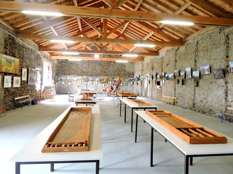 Grande salle de jeux et Exposition La Flanerie de Stevenson