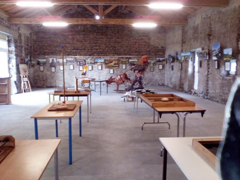Salle de jeux et Exposition