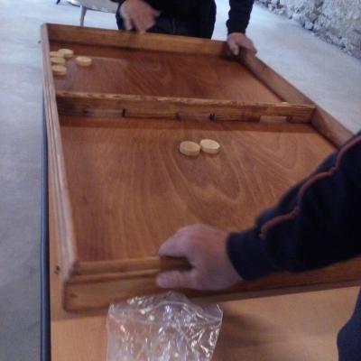 Table à Elastique Géante