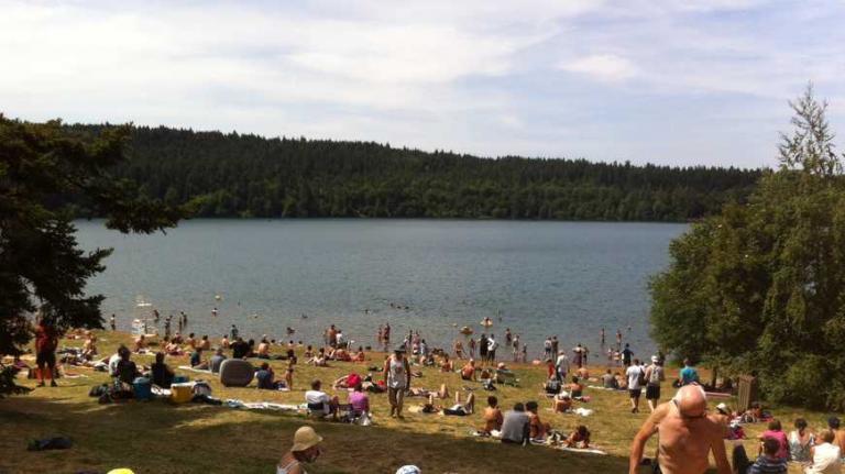 Lac du Bouchet Baignade