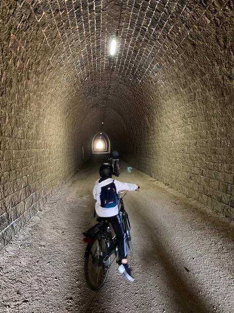 Passage dans le tunnel 1
