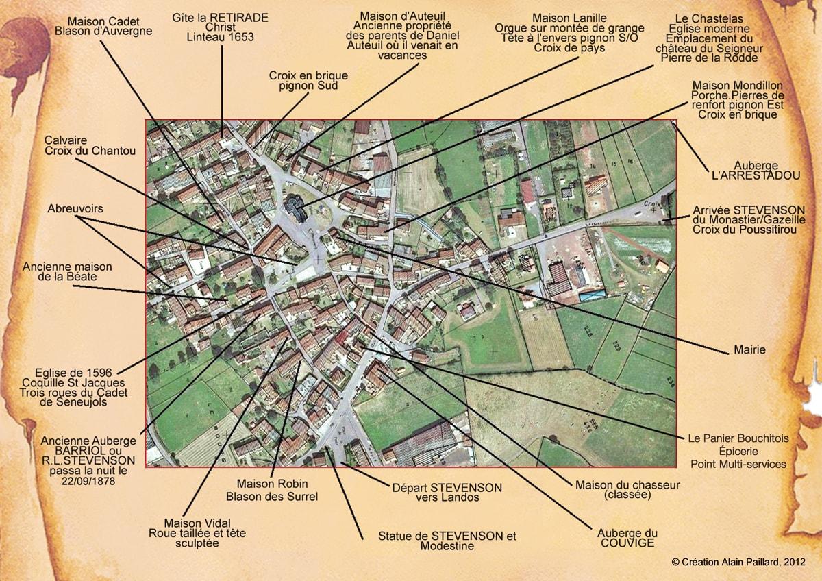 Plan aérien Commune